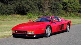 1988 Ferrari Testarossa COUPE / 4.9L FLAT-12 / 5-SPEED MANUAL / LOW MILES SUPER CLEAN