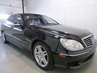 2003 Mercedes-Benz S-Class S 55 AMG