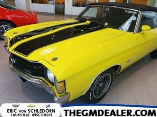 1972 Chevrolet Chevelle SS 454 Conv