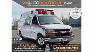 "2009 Chevrolet Express Cargo RWD 3500 155"""