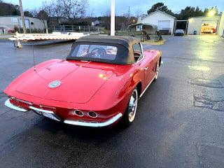 1962 Chevrolet Corvette 2D Convertible