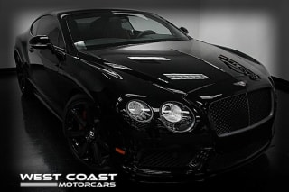 2015 Bentley Continental GT V8 S GT V8 S