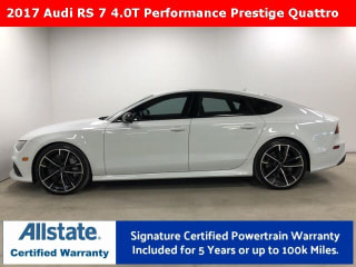 2017 Audi RS 7 quattro performance Prestige