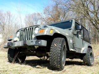 2000 Jeep Wrangler SE