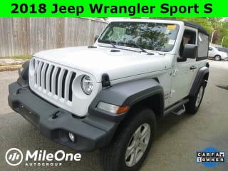 2018 Jeep Wrangler Sport S