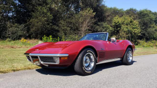 1970 Chevrolet Corvette CONVERTIBLE / 454CI V8 / AUTO / NEW BLACK TOP / NUMBERS MATCH