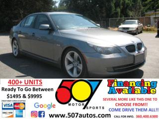 2008 BMW 5 Series 528i