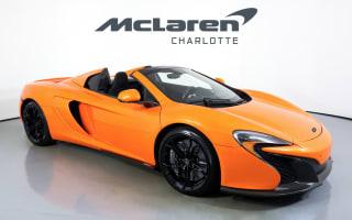 2015 McLaren 650S Spider Base