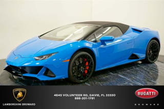 2020 Lamborghini Huracan LP 640-4 EVO Spyder