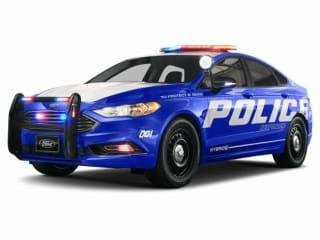 2020 Ford Fusion Hybrid Police Responder