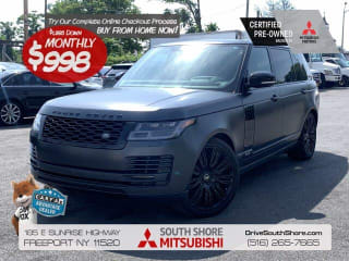 2018 Land Rover Range Rover Supercharged LWB
