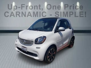 2017 Smart fortwo electric drive pure
