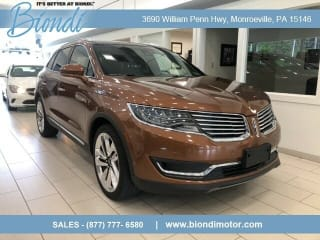 2017 Lincoln MKX Black Label