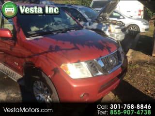 2008 Nissan Pathfinder SE V8
