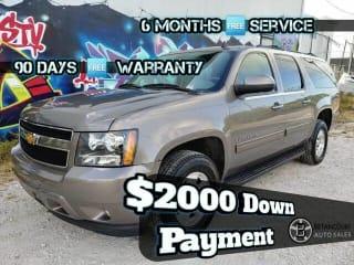 2012 Chevrolet Suburban LT 1500