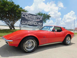1972 Chevrolet Corvette Coupe #'s Matching, 4-Spd, PS, PB, A/C, Deluxe 70k