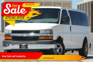 2011 Chevrolet Express Passenger LT 3500