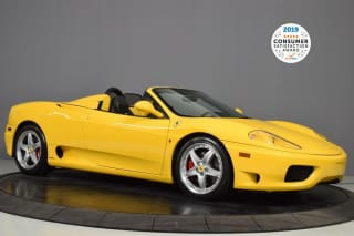 2003 Ferrari 360 Spider Base