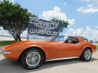 1972 Chevrolet Corvette Coupe LS5-454, 4-Spd, #'s Matching, Cold A/C, 74k!