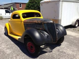 1936 Ford Coupe Hot Rod