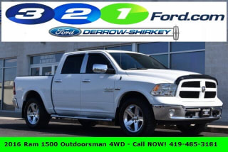 2016 Ram Pickup 1500 Outdoorsman