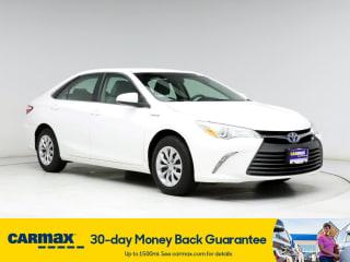 2016 Toyota Camry Hybrid LE