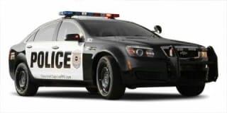 2011 Chevrolet Caprice Police Patrol