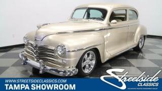 1948 Plymouth Deluxe Sedan Streetrod