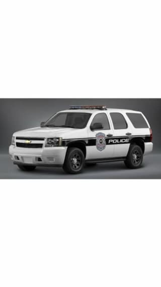 2009 Chevrolet Tahoe Police