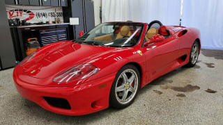 2002 Ferrari 360 Spider Base