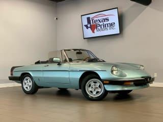 1984 Alfa Romeo Spider Veloce