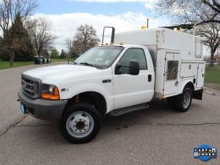 2000 Ford F-450 Super Duty F 450 SD 4x2 Regular Cab Utility Truck