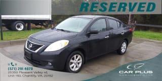 2012 Nissan Versa 1.6 SL
