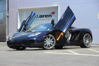 2013 McLaren MP4-12C Spider Base