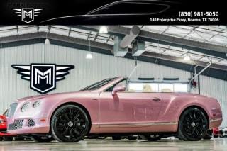 2013 Bentley Continental GTC GT