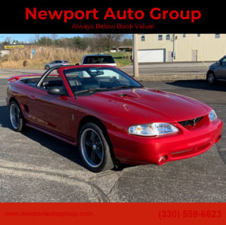 1998 Ford Mustang SVT Cobra Base