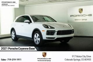 2021 Porsche Cayenne Base