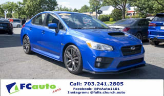 2016 Subaru WRX Premium