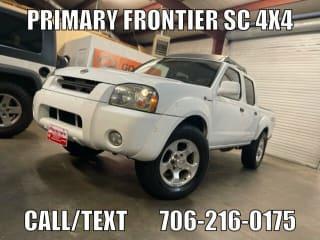 2001 Nissan Frontier SC