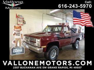1986 Chevrolet C/K 10 Series K10