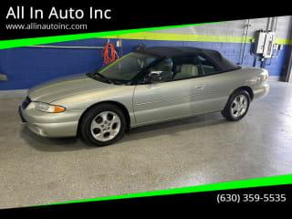 2000 Chrysler Sebring JXi Limited