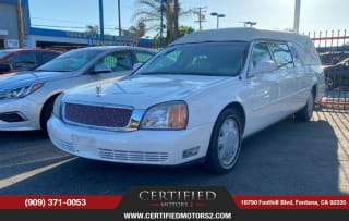 2001 Cadillac DeVille Funeral Coach