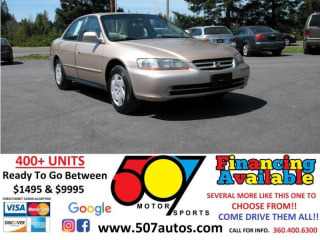 2001 Honda Accord LX V6