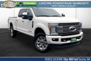 2017 Ford F-350 Super Duty Platinum