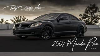 2007 Mercedes-Benz CL-Class CL 600