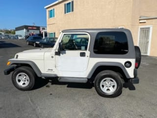 2005 Jeep Wrangler - RIGHT HAND DRIVE TRAIL RATED 4x44X4