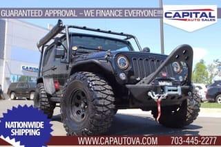 2015 Jeep Wrangler Willys Wheeler Edition