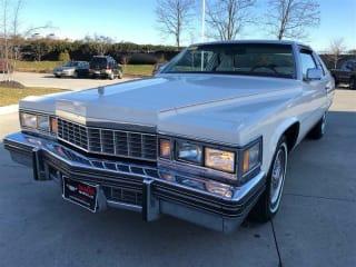 1977 Cadillac DeVille Coupe De Ville