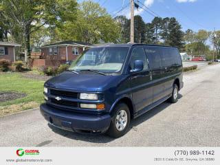 2002 Chevrolet Express Passenger 1500 LT