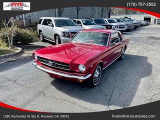 1965 Ford Mustang Optional 200hp 289ci 2V V8